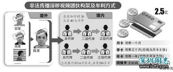 色情直播涉案亿元被查:香港租用服务器同伙间不实名沟通