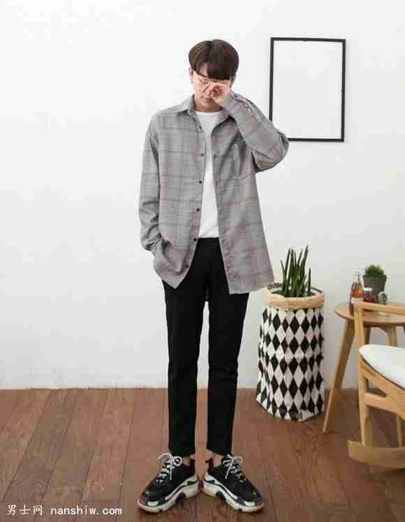高瘦男生穿衣搭配技巧 穿不好180变160